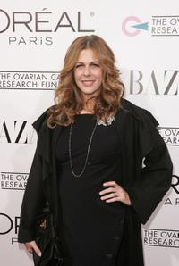 Rita Wilson at the benefit of The Ovarian Cancer Research Fund for