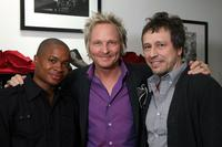 Sam Jones III, Matt Sorum and Michael Wincott at the launch of the new Sorum Noce Collection.
