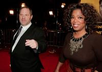 Oprah Winfrey and Harvey Weinstein at the Los Angeles premiere of