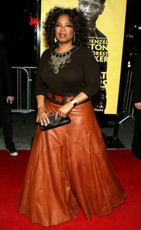 Oprah Winfrey arrives at the Los Angeles premiere of
