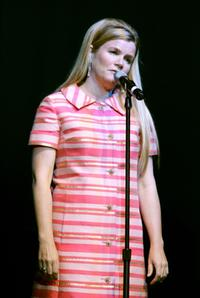 Mare Winningham at The Henry Fonda Music Box Theatre for WeSPARKLE Variety Hour.