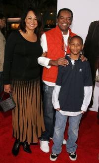 Angela Robinson, John Witherspoon and David at the world premiere of
