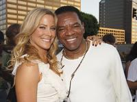 Brittany Daniel and John Witherspoon at the premiere of