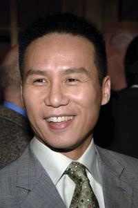 B.D. Wong at the opening night performance of