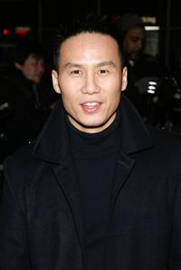 B.D. Wong at the opening night of Talk Radio.
