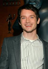 Elijah Wood at the for 13th Annual Screen Actors Guild Awards Nominations.