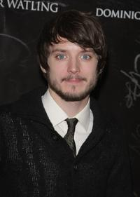 Elijah Wood at the Paris premiere of