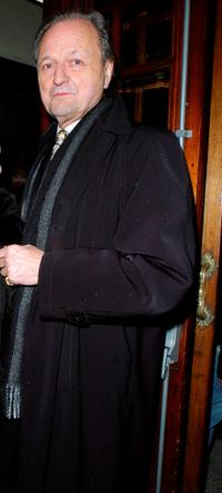 Peter Bowles at the press night of