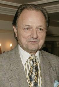 Peter Bowles at the Evening Standard Theatre Awards.