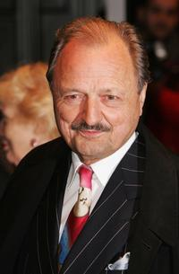 Peter Bowles at the world premiere of