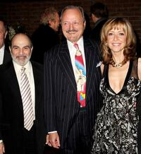 David Suchet, Peter Bowles and Sharon Maughan at the world premiere of