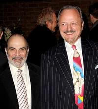 David Suchet and Peter Bowles at the world premiere of