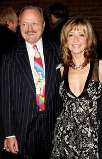 Peter Bowles and Sharon Maughan at the world premiere of
