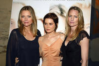 Robin Wright Penn with costars Michelle Pfeiffer and Alison Lohman at the premiere of