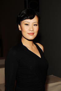 Vivian Wu at the Donna Karan Collection Spring 2011 fashion show during the Mercedes-Benz Fashion Week.