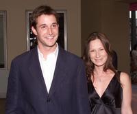 Noah Wyle and wife Tracy Warbin at the special preview performance of