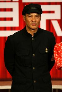Simon Yam at the press conference of 31st Hong Kong International Film Festival.