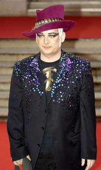 Boy George at the British (Brit) Music Awards.