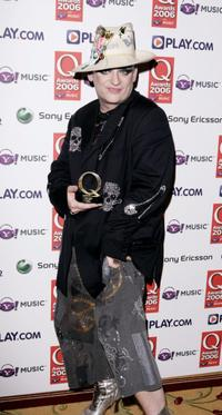Boy George at the Q Awards 2006.