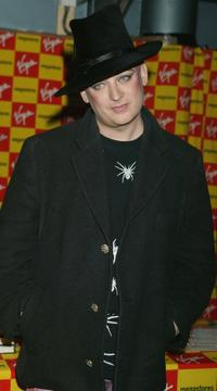 Boy George at the signing of his March 3 published autobiography
