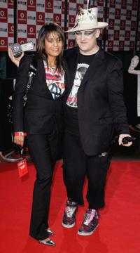 Boy George and Amanda Ghost at the Vodafone Live Music Awards.
