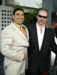 Eduardo Yanez and Jonathan Hensleigh at the Los Angeles premiere of