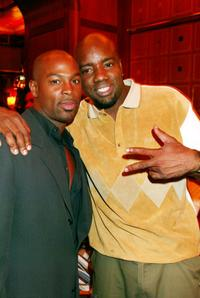 Darrin Henson and Malik Yoba at the special screening premiere of