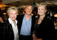 Pat York, Michael York and Claire Chapman at the UK Film Council US Post Oscars Brunch.