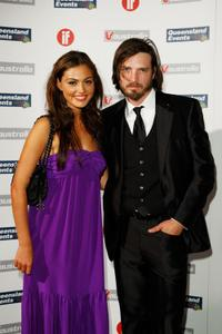 Phoebe Tonkin and Aden Young at the Inside Film Awards.