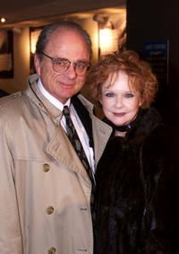 Harris Yulin and his wife at the special screening of