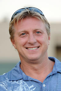 William Zabka at the Outdoors screening of