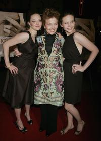 Amanda Seyfried, Grace Zabriskie and Daveigh Chase at the premiere of