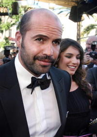 Billy Zane and his companion Kelly Brook at the premiere of