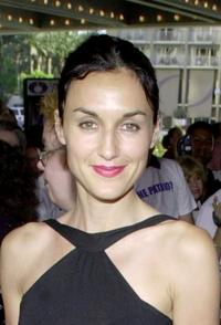 Lisa Zane at the premiere of