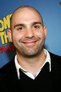 Ahmet Zappa at the premiere of