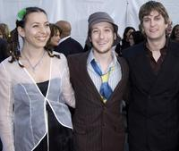 Moon Zappa, Guest and Rob Thomas at the 30th Annual American Music Awards (AMA).