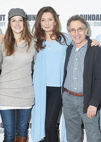 Nicole Parker, Donna Murphy and Chip Zien at the photocall of