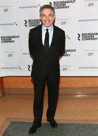 Chip Zien at the Broadway opening night of