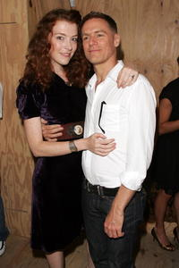 Melissa Auf Der Mar and Bryan Adams at the Mark Seliger's 401 Projects'