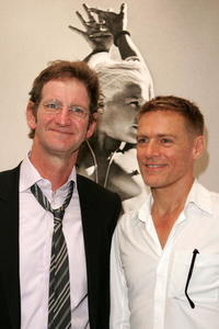 Mark Seliger and Bryan Adams at the Mark Seliger's 401 Projects'