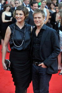 Linda Evangelista and Bryan Adams at the 2008 Canada's Walk of Fame.