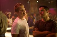Matt Czuchry as Tucker Max and Jesse Bradford as Drew in