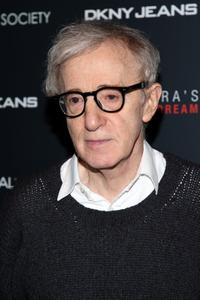 Woody Allen at the New York screening of
