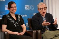 Woody Allen and Hayley Atwell at the Toronto International Film Festival.