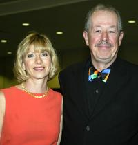 Denys Arcand and his wife producer Denise Robert at the 24th Annual Genie Awards.