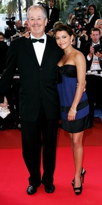 Denys Arcand and Emma de Caunes at the 60th International Cannes Film Festival.