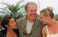 Denys Arcand, Emma de Caunes and Diane Kruger at the 60th International Cannes Film Festival.
