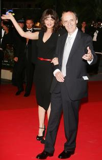 Dario Argento and Asia Argento at the 60th International Cannes Film Festival.