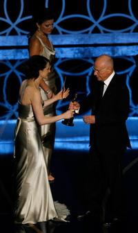 Alan Arkin and Rachel Weisz at the 79th Annual Academy Awards.
