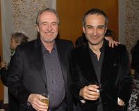 Director Wes Craven and Olivier Assayas at the Los Angeles premiere of
